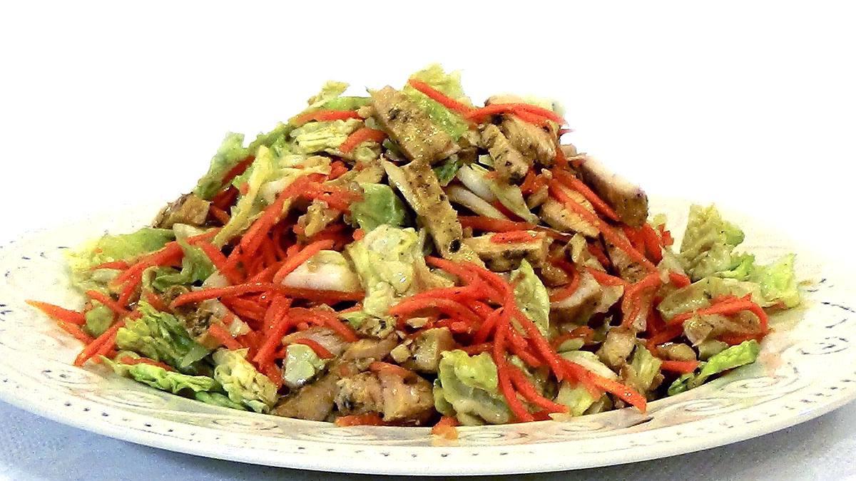 Рецепт острый салата из пекинской капусты