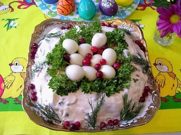 Готовим Салаты Пасхальный салат