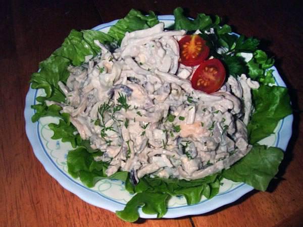 скачать рецепты салатов из риса