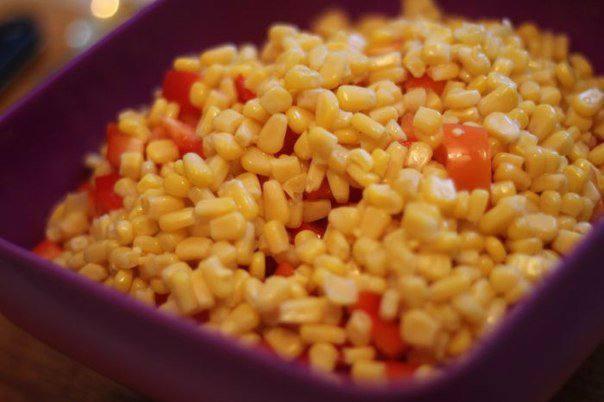 Рецепт Овощной салат с красной фасолью  шаг-2