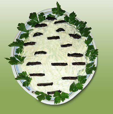 Готовим Салаты Салат «Белая береза»