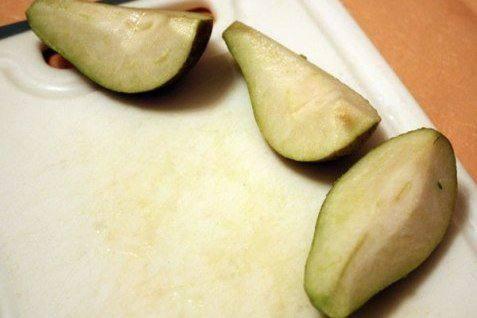 Рецепт Салат из авокадо и груш  шаг-2