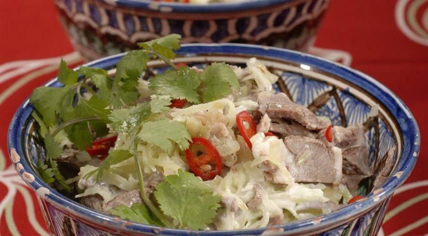 салат узбекистан фото
