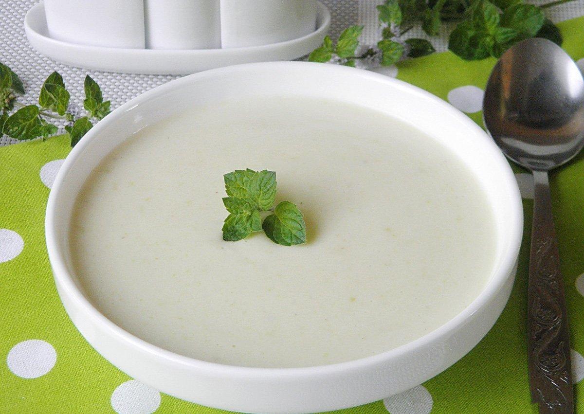 Суп пюре из кабачков с сыром рецепт пошагово