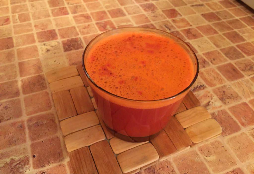 Морковный сок со свеклой