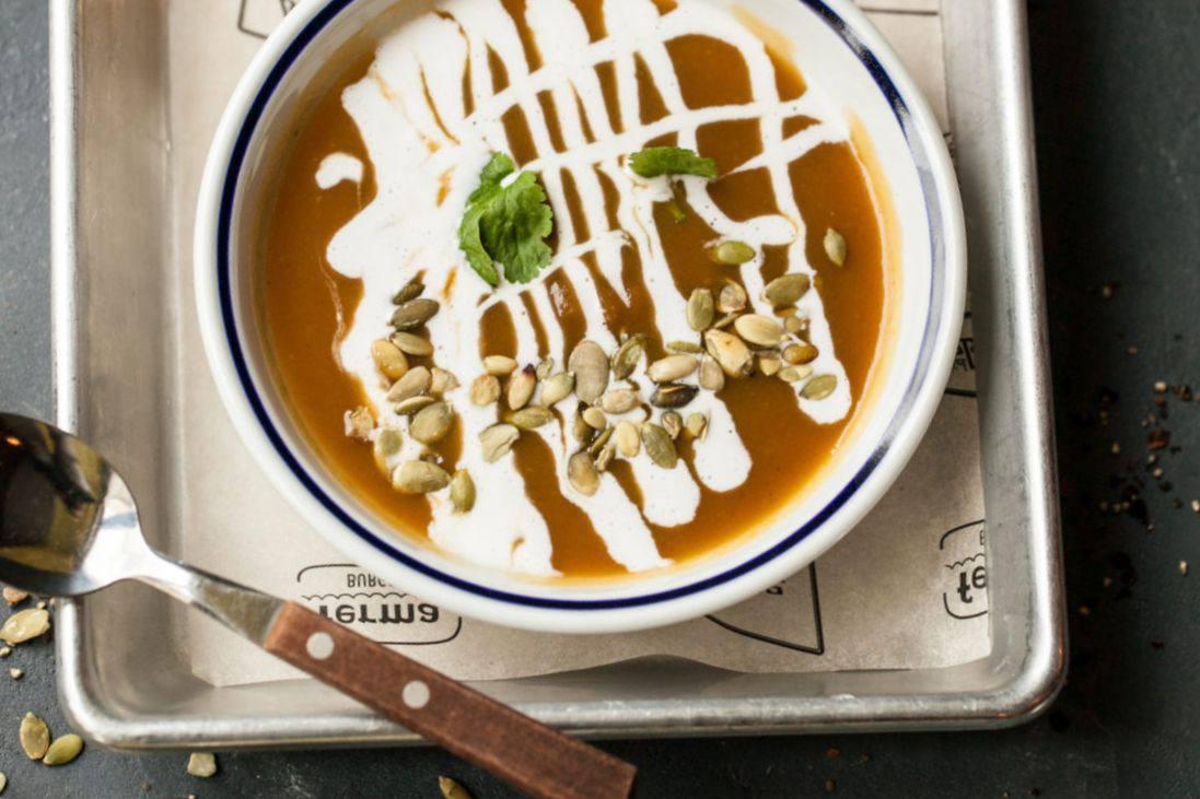 Готовим Супы Тыквенный суп