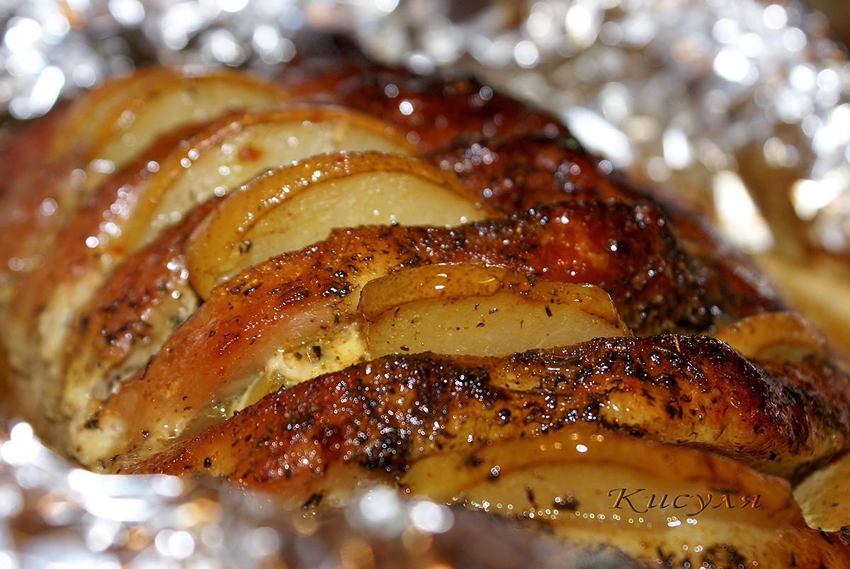 Мясо с овощами в духовке. Пошаговый рецепт с фото 36