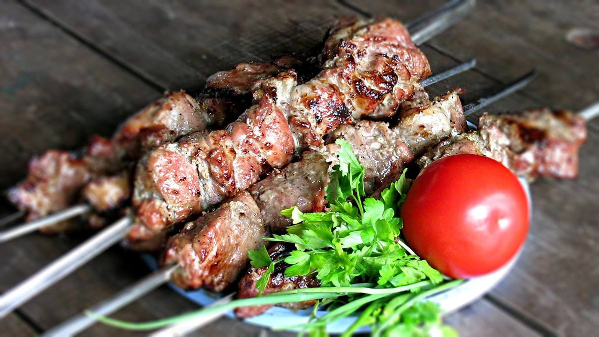 Шашлык из свинины в минералке рецепт �� с фото пошаговый, Лучшие рецепты блюд из мяса