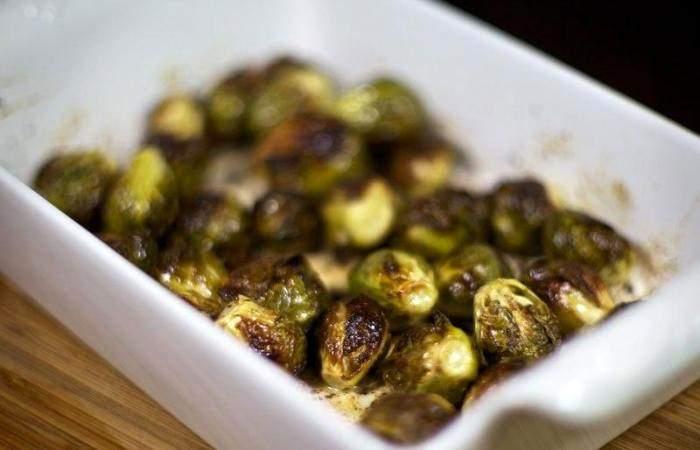 Рецепт Брюссельская капуста запеченная в духовке шаг-6