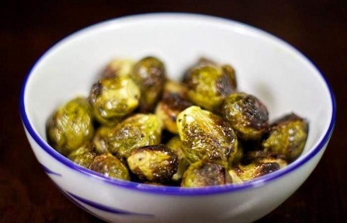 Рецепт Брюссельская капуста запеченная в духовке шаг-7