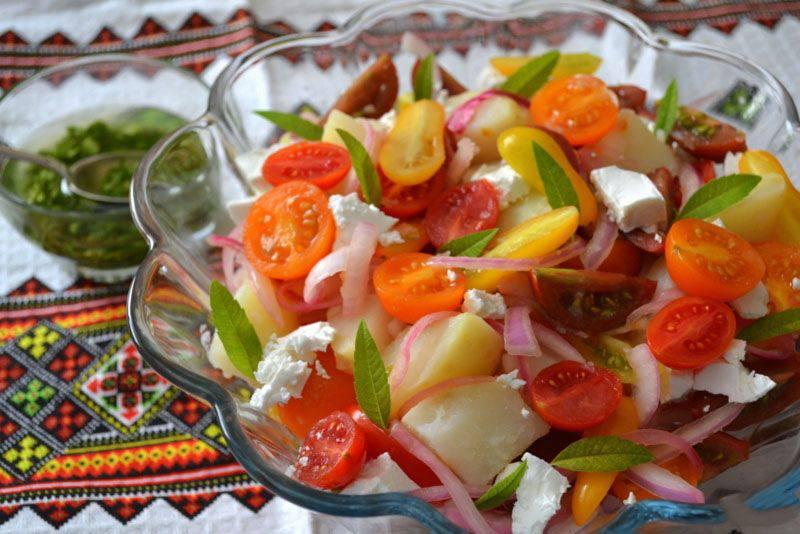 Изысканные салаты и рецепты