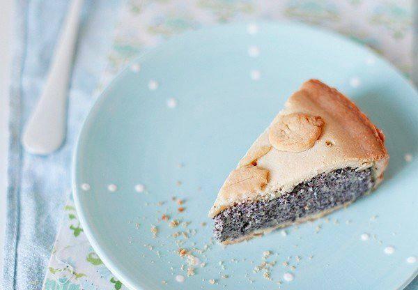 Готовим Выпечка Баскский пирог с маковым заварным кремом