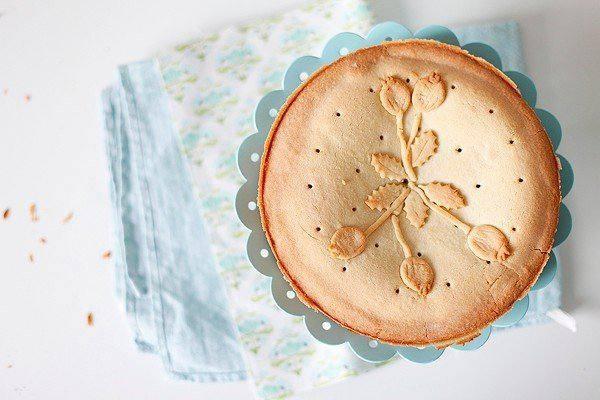 Рецепт Баскский пирог с маковым заварным кремом шаг-7