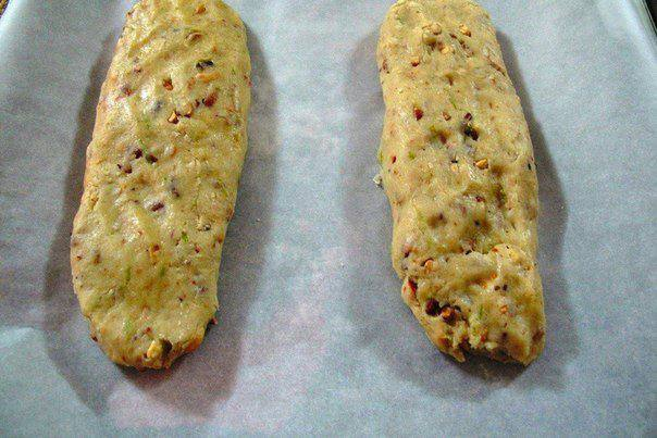 Рецепт Бискотти с цедрой лайма и орехами кешью шаг-3