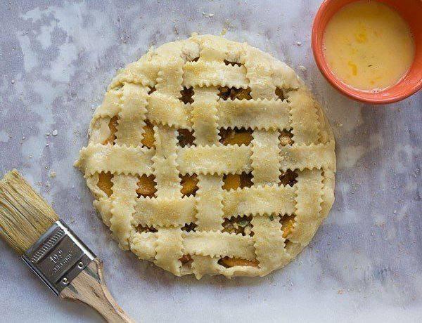 Рецепт Галета с абрикосом и орехами шаг-3