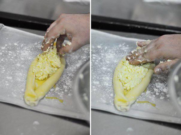 Рецепт Хачапури по-аджарски шаг-5