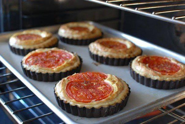 Рецепт Корзинки с томатами и рикоттой шаг-8