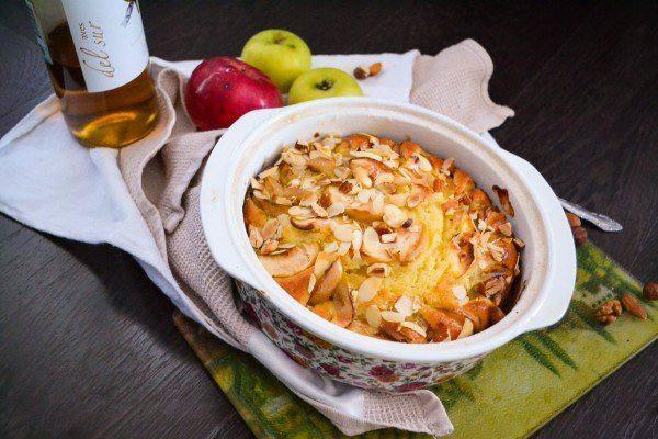 Готовим Выпечка Орехово-яблочный пирог