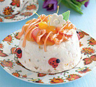Готовим Десерты Пасха с курагой