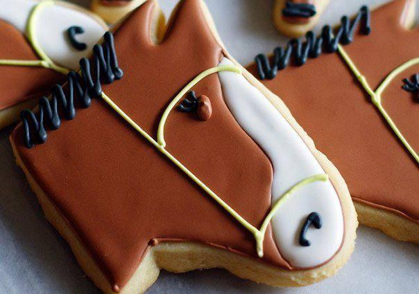 Готовим Выпечка Печенье «Лошадки»