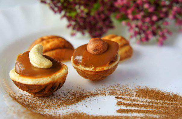 Готовим Выпечка Печенье «Орешки»