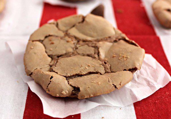 Готовим Выпечка Печенье из молочного шоколада