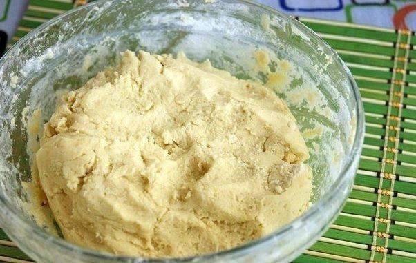 Рецепт Песочные кольца с арахисом шаг-1
