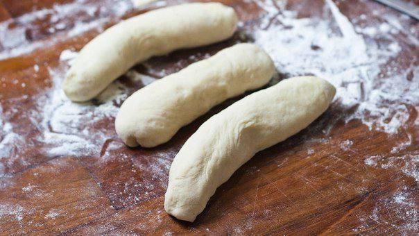 Рецепт Рогалик с сыром и сосисками шаг-5