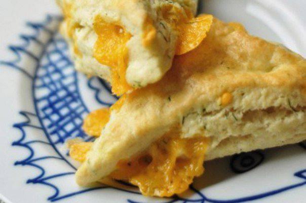 Готовим Выпечка Сдобные булочки с сыром и укропом