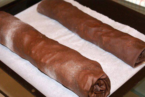 Рецепт Шоколадный штрудель шаг-6
