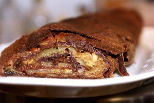 Рецепт Шоколадный штрудель шаг-7