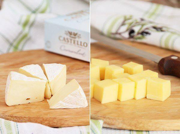 Рецепт Сырное печенье с орехами и кунжутом шаг-1