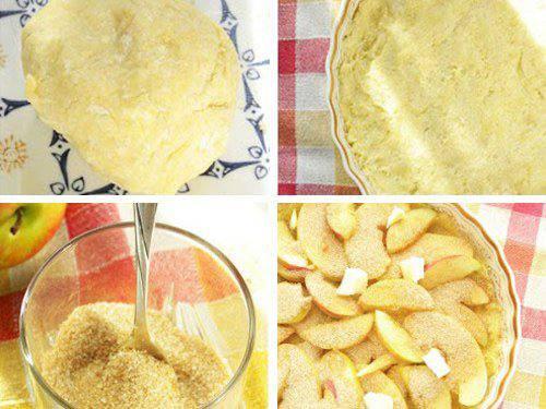 Рецепт Яблочная кростата с сыром чеддер  шаг-2