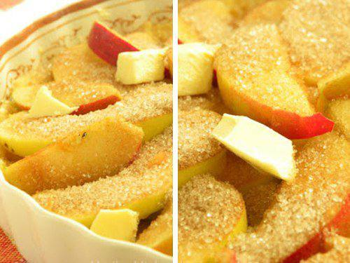 Рецепт Яблочная кростата с сыром чеддер шаг-3
