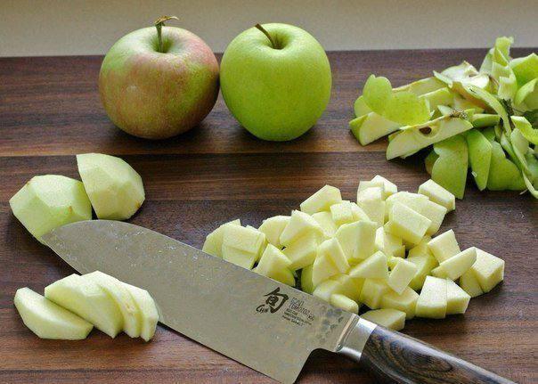 Рецепт Яблочный штрудель с орехами шаг-1