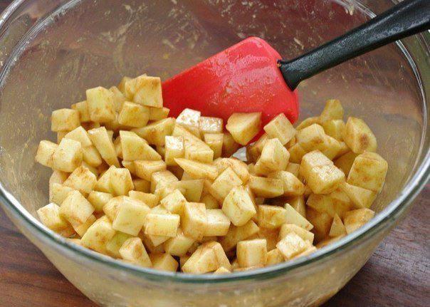 Рецепт Яблочный штрудель с орехами  шаг-2