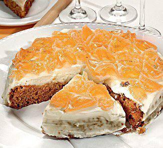 Готовим Выпечка Яблочно-морковный пирог