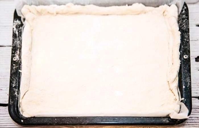 Рецепт Рыбный пирог с рисом из дрожжевого теста шаг-11