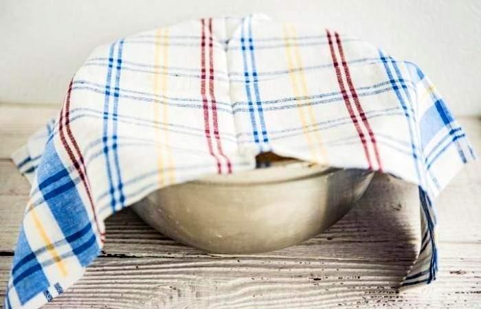 Рецепт Рыбный пирог с рисом из дрожжевого теста шаг-5