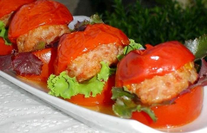 Готовим Закуски Гамбургер из помидоров