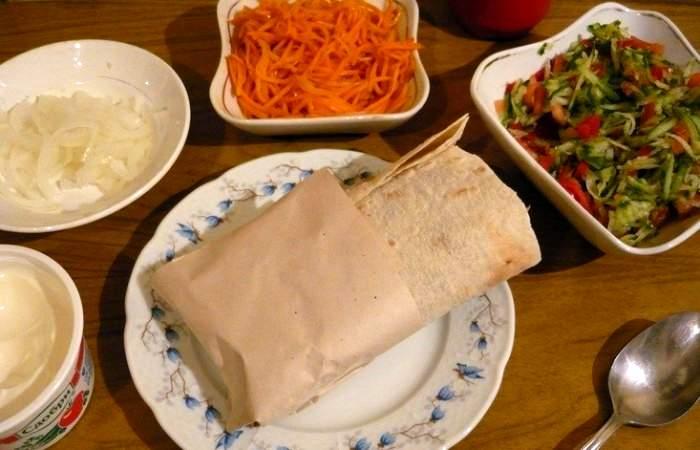 Рецепт Хот-дог в лаваше шаг-5