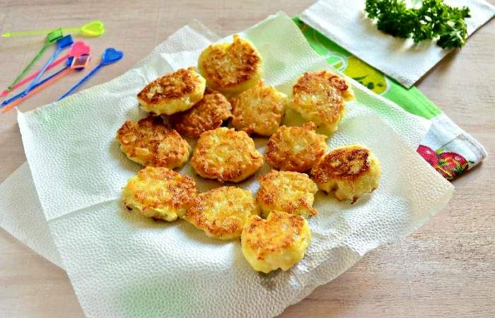 Рецепт Картофельные канапе с сельдью шаг-9
