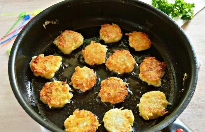 Рецепт Картофельные канапе с сельдью шаг-8