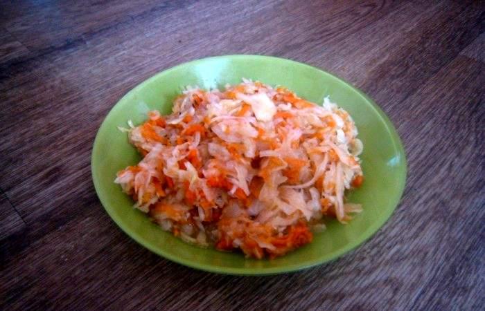 Рецепт Квашеная капуста без соли шаг-6