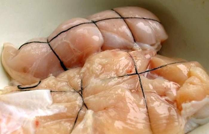 Рецепт Пастрома из куриного филе  шаг-2