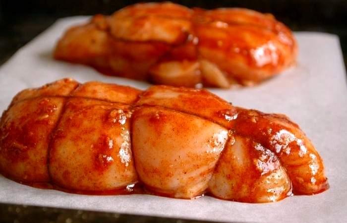 Рецепт Пастрома из куриного филе  шаг-4