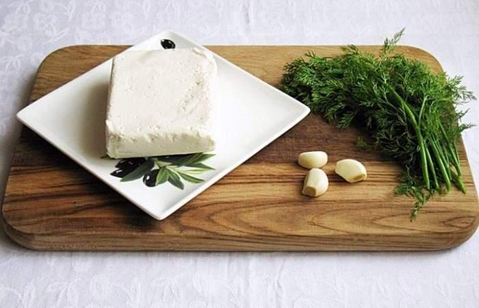 Рецепт Помидоры с творожно-чесночным кремом  шаг-2