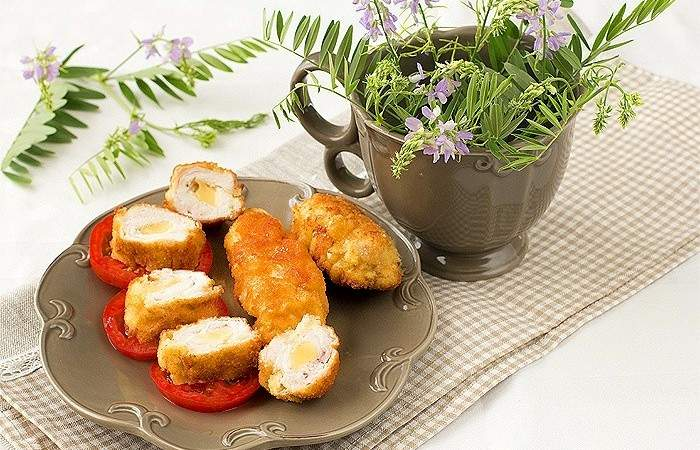 Рецепт Рулеты из индейки с сыром шаг-5