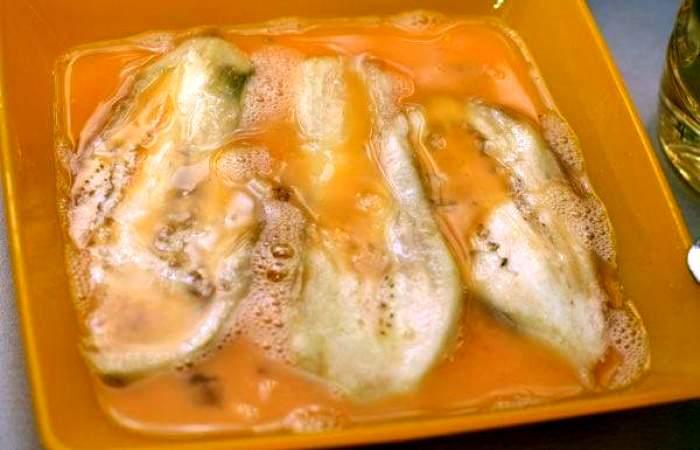 Рецепт Рулетики из баклажанов с помидорами шаг-5