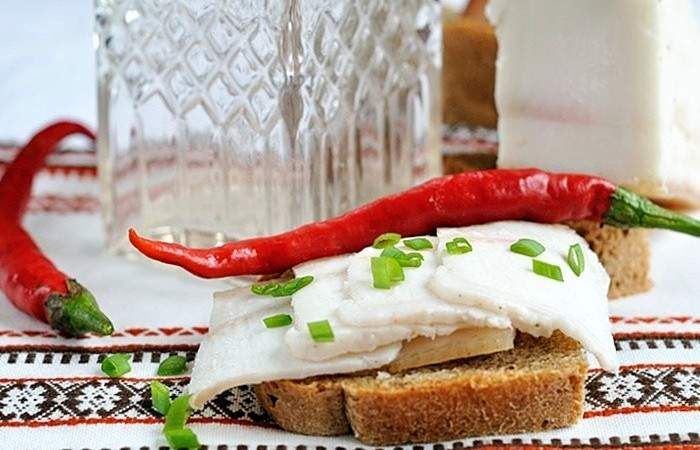 Рецепт Соленое сало по-украински шаг-5